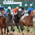 A field of 12 will line up in Saturday's Grade 1 Arkansas Derby at Oaklawn Park. (Photo credit: Bigstock).