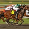 Finding the Kentucky Derby runner up can produce a big windfall. (Photo credit dreamstime).