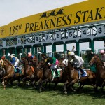 Kentucky Derby winner California Chrome will headline the Preakness Stakes on Saturday, May 17 (photo credit Pimlico Race Course)
