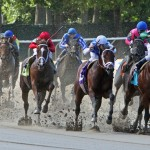 Monday's Big Apple Showcase Day at Belmont Park may be run over a wet track (photo credit: © Cheryl Quigley | Dreamstime.com)