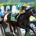 Palace Malice wins the Belmont Stakes at 13-1 (photo credit: NYRA.com)