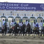 The Breeders' Cup gets underway Friday featuring the $2 million Distaff (Photo credit: Breeders' Cup Ltd.)