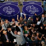 Connections of Mucho Macho Man celebrate after the 2013 Breeders' Cup Classic (Photo credit: Breeders' Cup Ltd.)