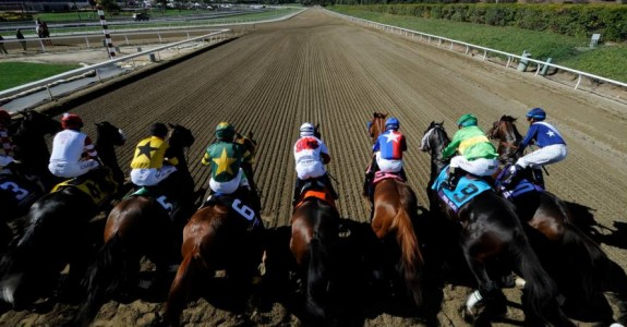 The Breeders' Cup breaks from the gate on Friday with four championship races. (Photo credit: Breeders' Cup Ltd.)