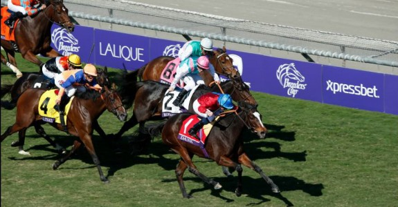 Dank is seeing a repeat in the Breeders' Cup Filly & Mare Turf and is the early betting favorite (Photo credit: Breeders' Cup Ltd.)