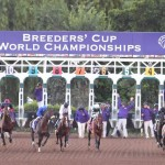 The Breeders' Cup wagering menu was announced on Wednesday. (Photo credit: Breeders' Cup Ltd.)