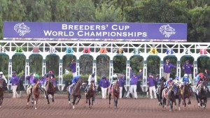 Two Breeders' Cup Challenge races are on tap at Churchill Downs on Saturday night (Photo credit: Breeders' Cup Ltd.)