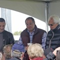 Ahmed Zayat (center) is being sued for outstanding gambling debts from wagering offshore (Photo credit: kentuckyderby.com)