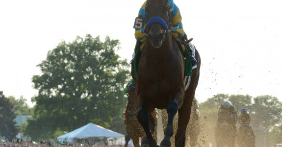 What's next for American Pharoah after his loss in the Travers? (Phoro credit: NYRA)