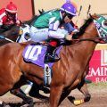 A field of 11 line up in Sunday's Oklahoma Derby (G3) at Remington Park. (Photo credit: Remington Park).