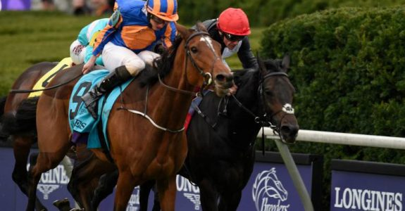 Breeders' Cup Turf champ Found will be cross-entered in the Classic (Photo credit: Breeders' Cup Ltd.).