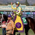 Classic Empire sits atop the Road to the Kentucky Derby points race after his victory in the Breeders' Cup Juvenile (photo credit: Breeders' Cup Ltd.)